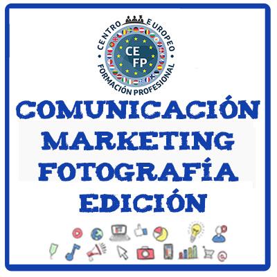 SECTOR COMUNICACIÓN, MARKETING, FOTOGRAFÍA Y EDICIÓN