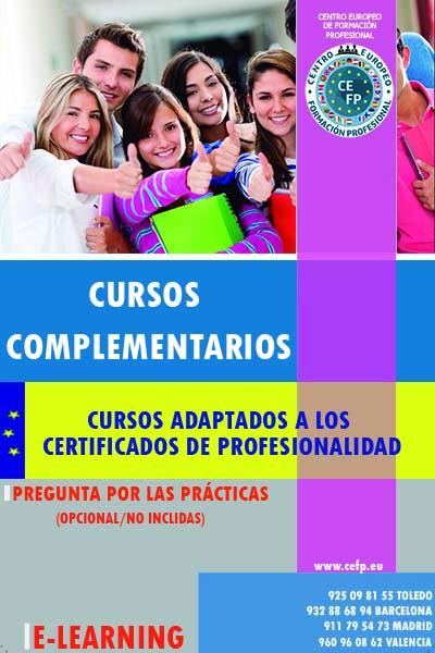 Cursos Complementarios Adaptados a Certificados de Profesionalidad