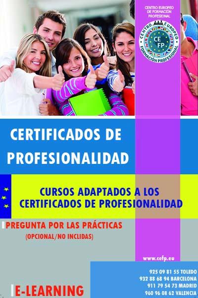 Preparación Certificados de Profesionalidad