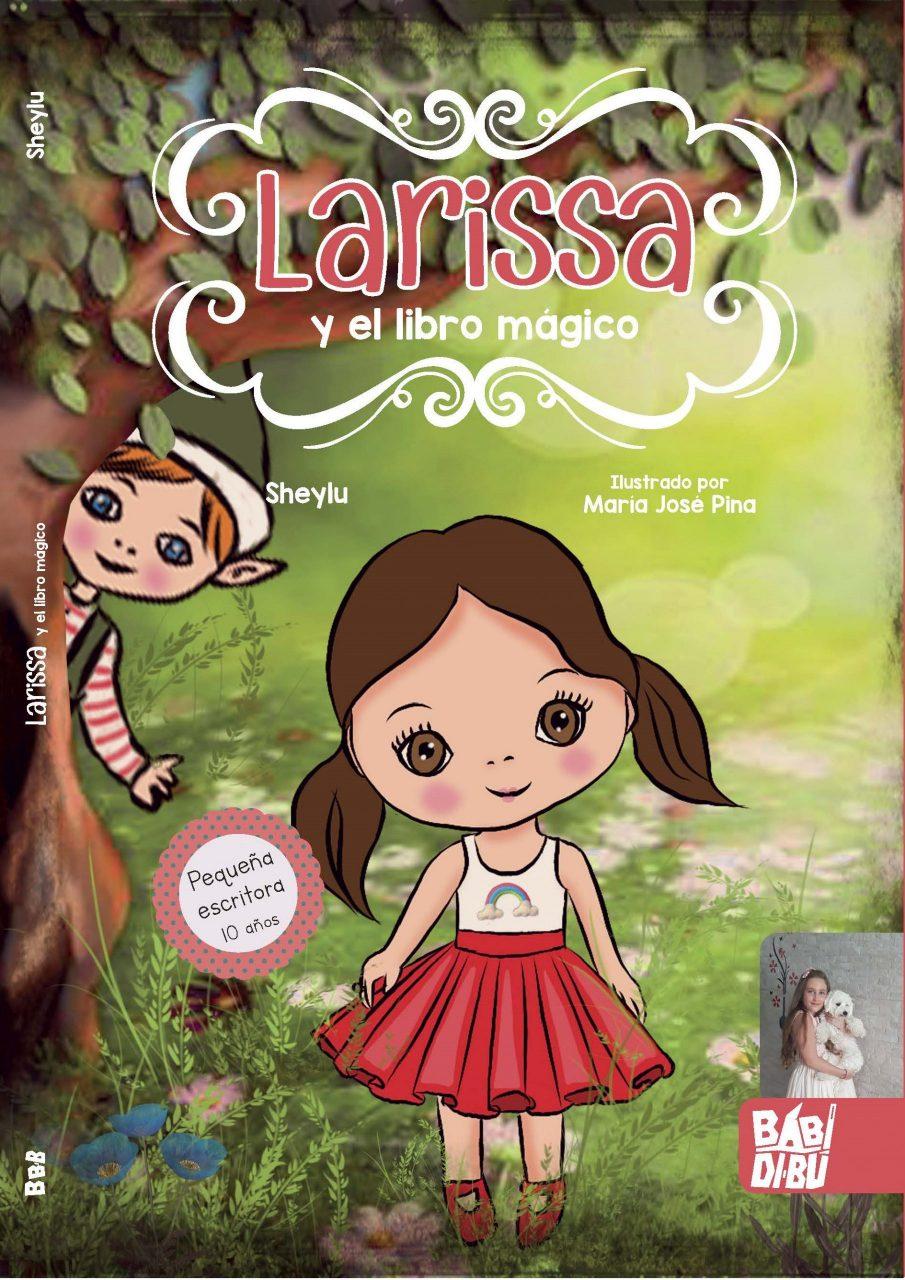 """Libro """"Larissa y el libro mágico"""""""